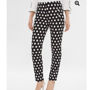 Chico's Royal Dot Juliet Ankle Pants